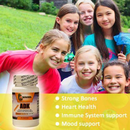 Family info Graphic Vitamin ADK